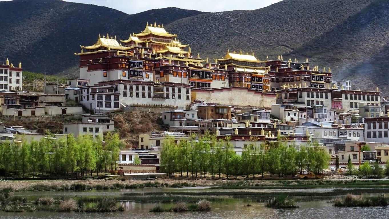 Monastère Shangri la 1