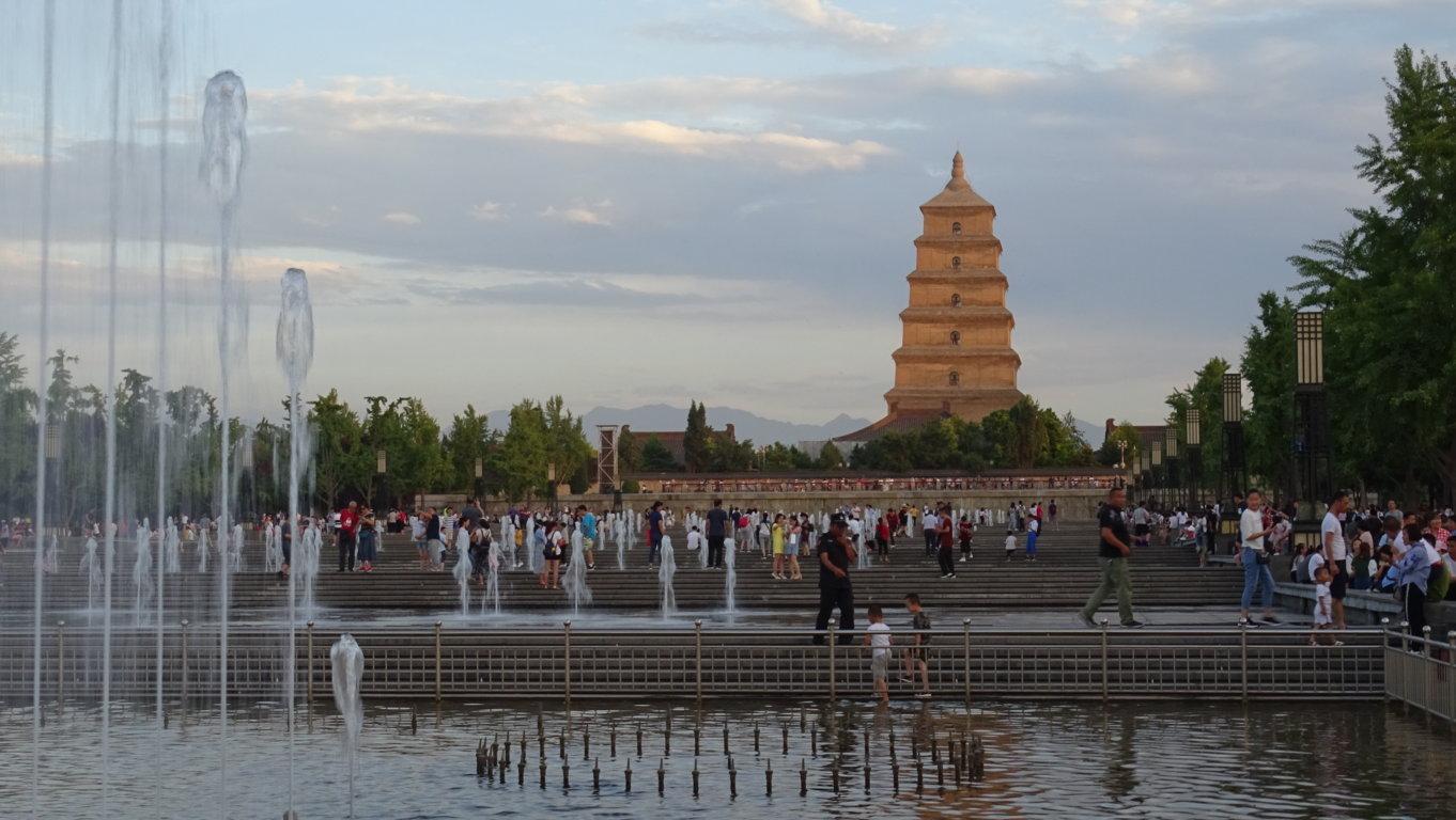 Grande pagode de l oie 1