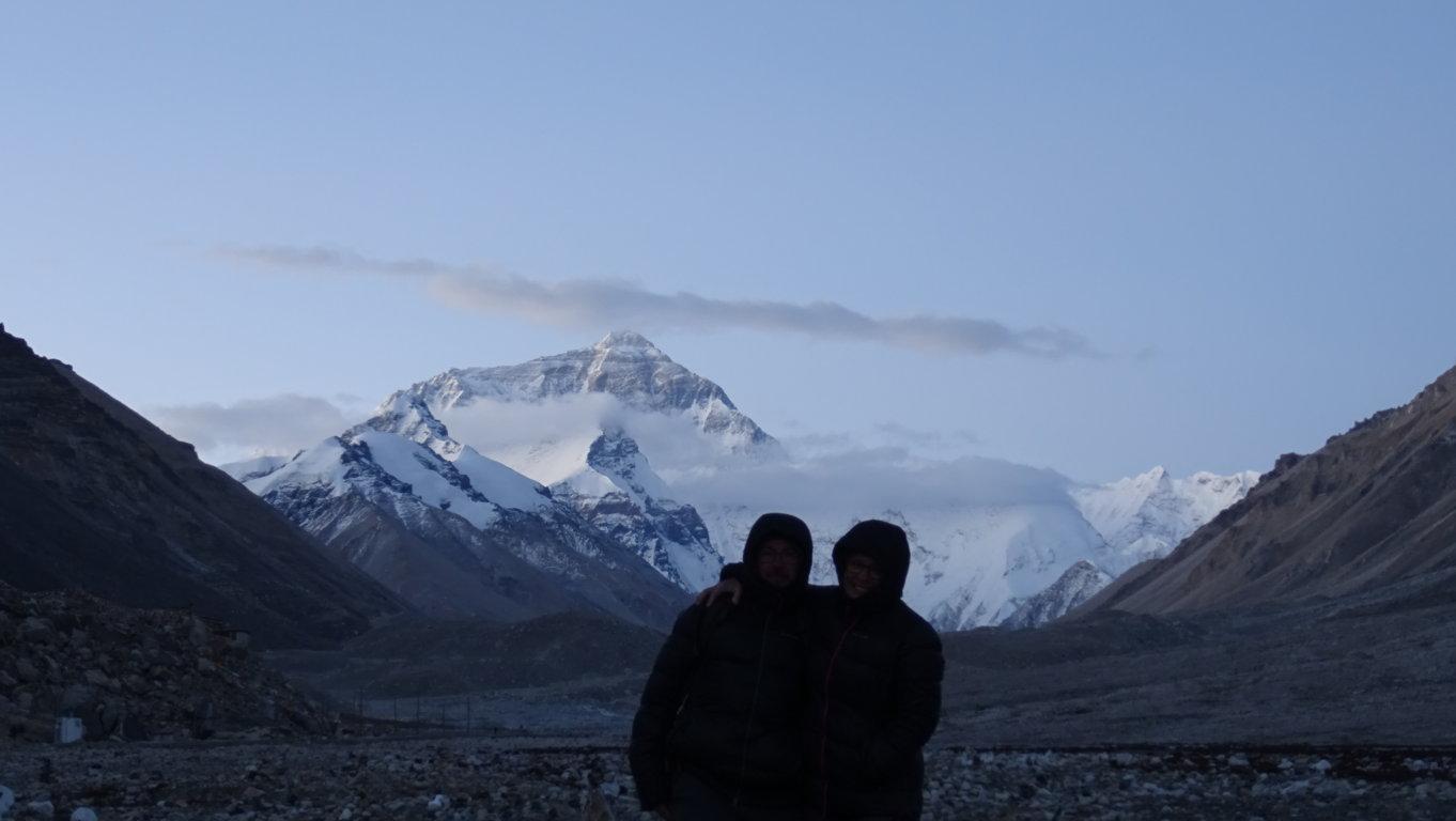 Lever de soleil Everest 2